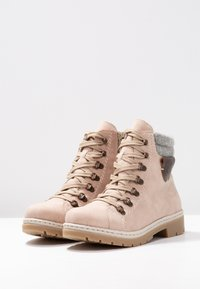 Rieker - Lace-up ankle boots - rosa - 4