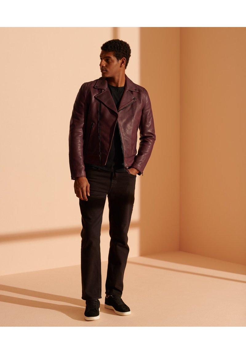 Superdry - Leather jacket - fig