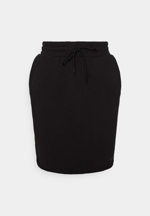 CLASH SKIRT - Pouzdrová sukně - black/smoke grey