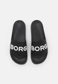 Björn Borg - KNOX  - Ciabattine - black/white - 3