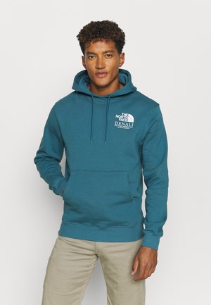 HIGHEST PEAK HOODY - Huppari - mallard blue