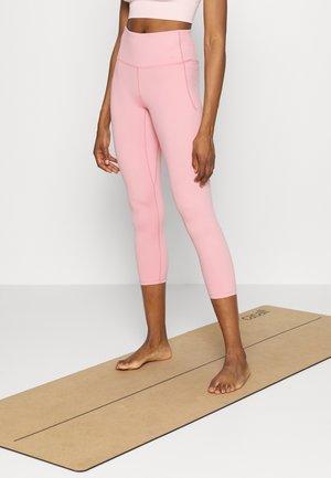 MERIDIAN CROP - Legginsy - pink