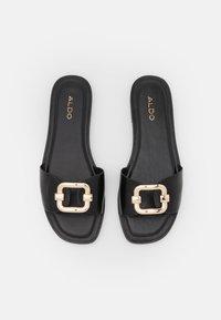 ALDO - GLAESWEN - Pantofle - black - 5