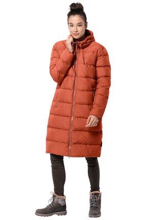 CRYSTAL PALACE - Winter coat - saffron orange