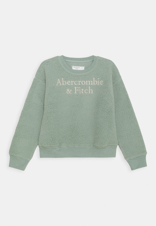 COZY LOGO CREW - Sweatshirt - mint