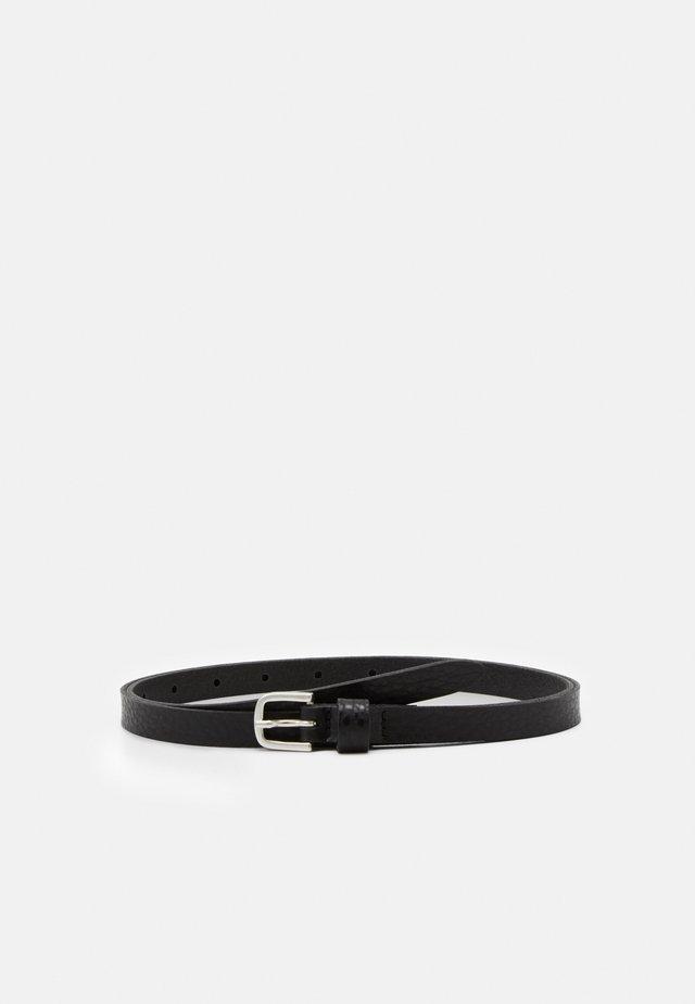 Gürtel - schwarz metallic