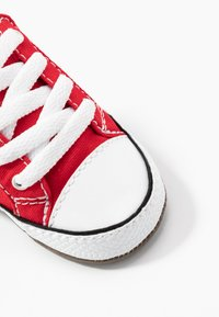 Converse - CHUCK TAYLOR ALL STAR CRIBSTER MID - First shoes - university red/natural ivory/white - 2