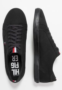 Tommy Hilfiger - ICONIC LONG LACE - Trainers - black - 1
