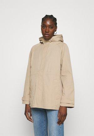 BLAZE - Short coat - sand