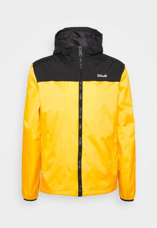 MAINE - Summer jacket - yellow