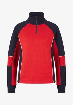 BABETTE - Sweater - rot/navy-blau