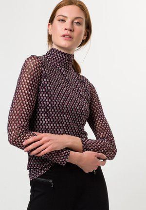 MIT RETRO PRINT - Blouse - claret red