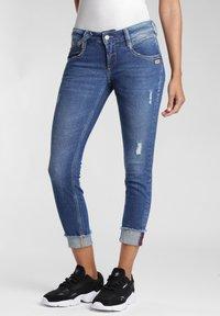 Gang - COMFORT RETRO - Jeans Skinny Fit - blue stone vintage - 2