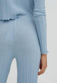 PULL&BEAR - Trousers - stone blue denim - 4
