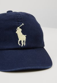 Polo Ralph Lauren - BIG APPAREL ACCESSORIES HAT UNISEX - Cap - newport navy - 2