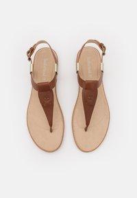 Timberland - CHICAGO THONG - T-bar sandals - rust - 4