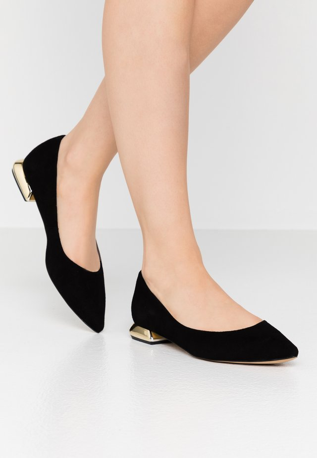 BE HERE - Ballerine - black