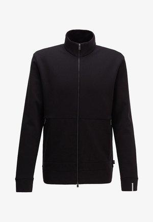 SIDNEY - veste en sweat zippée - black