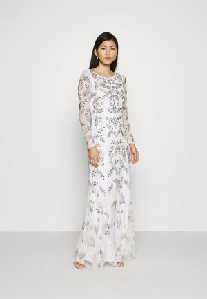 ALL OVER FLORAL DRESS - Ballkjole - ivory