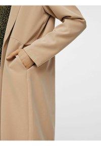 Pieces - Short coat - warm taupe - 4