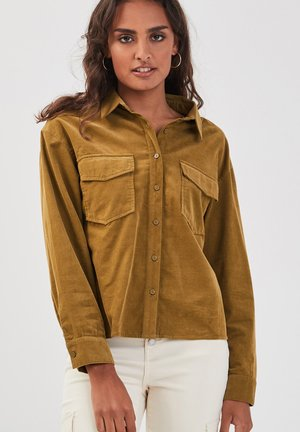 Button-down blouse - vert olive