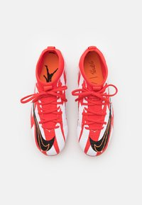 Nike Performance - MERCURIAL 8 ACADEMY CR7 FG/MG UNISEX - Moulded stud football boots - chile red/black/white/total orange - 3