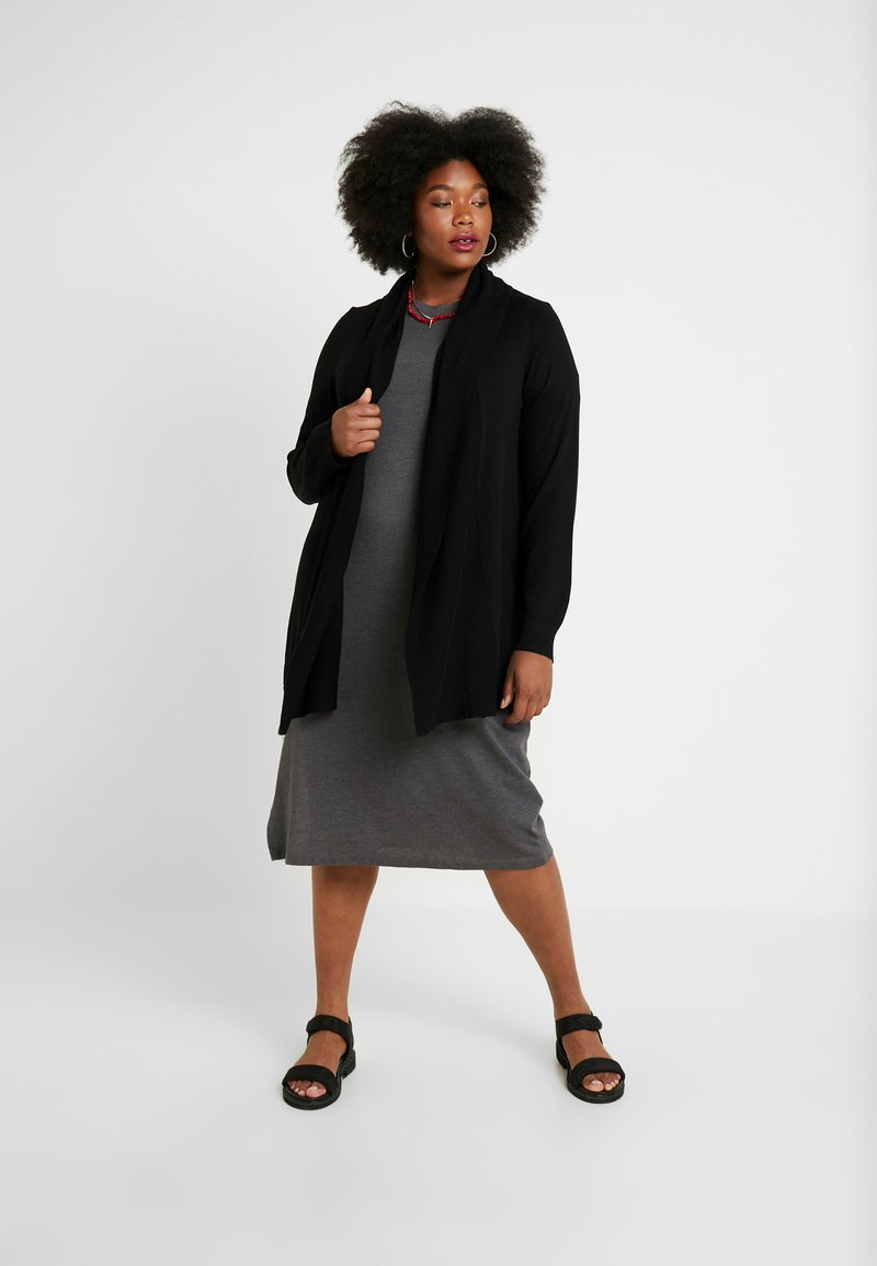 Twintip Plus - Strikjakke /Cardigans - black