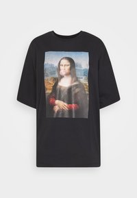 Even&Odd - Print T-shirt - black - 3