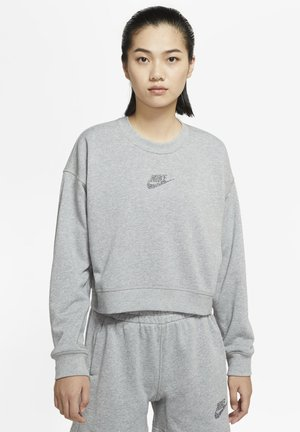 CREW - Bluza - dark grey heather