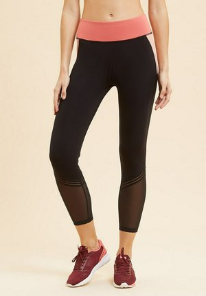 Leggings - Trousers - noir