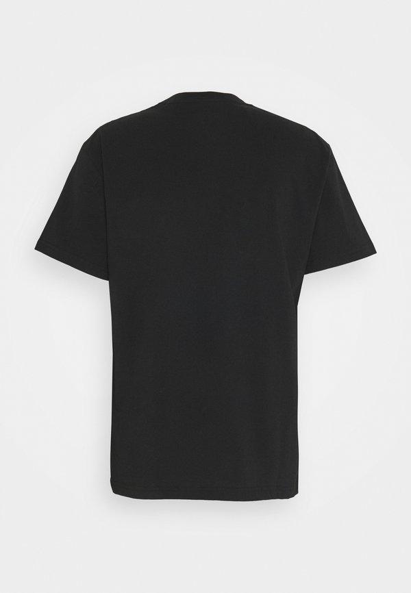 Pepe Jeans MALCOLM - T-shirt z nadrukiem - black/czarny Odzież Męska QOJJ