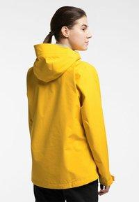Haglöfs - HARDSHELLJACKE ROC GTX JACKET WOMEN - Hardshell jacket - pumpkin yellow - 1