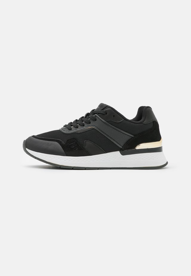 Sneakers basse - black/light gold