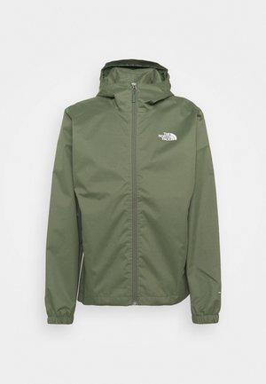 MENS QUEST JACKET - Hardshellová bunda - mottled dark green