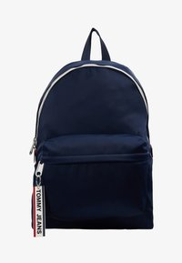 Tommy Jeans - LOGO TAPE BACKPACK - Rucksack - blue - 5