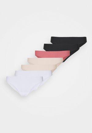 7 PACK - Slip - black