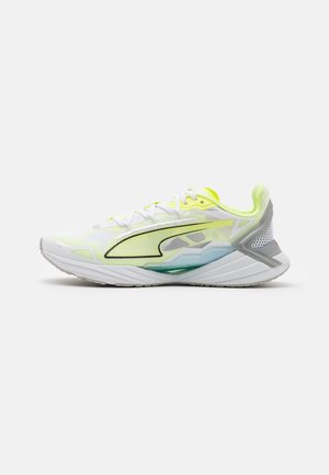ULTRA RUNNER JR UNISEX - Competition running shoes - yellow/white/blue