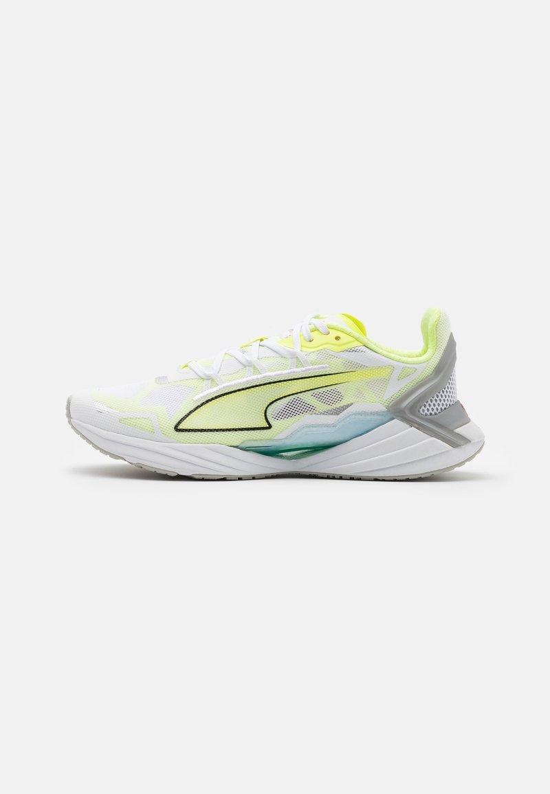 Puma - ULTRA RUNNER JR UNISEX - Závodní běžecké boty - yellow/white/blue