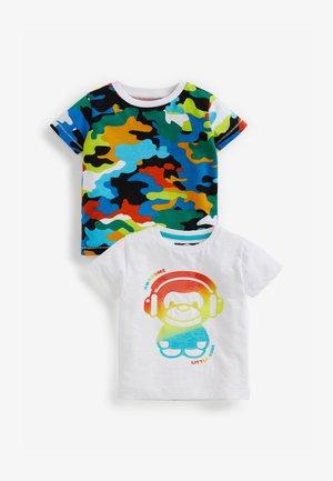 2 PACK - T-shirt med print - multi-coloured