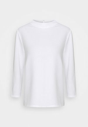 STRUCTURE - Long sleeved top - whisper white