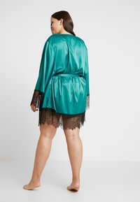 Playful Promises - SLEEVES - Badekåpe - teal - 2
