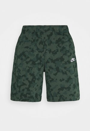 CLUB CAMO - Shorts - galactic jade/white