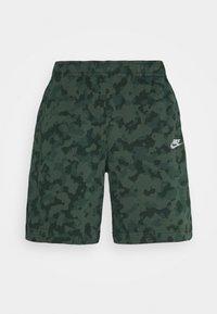 Nike Sportswear - CLUB CAMO - Shorts - galactic jade/white - 4