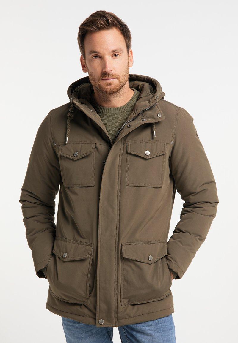 DreiMaster - Winter coat - militär oliv