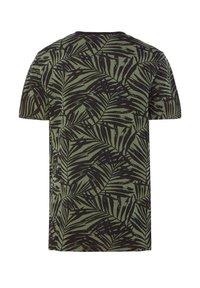 WE Fashion - WE FASHION JONGENS T-SHIRT MET TEKSTOPDRUK - Camiseta estampada - green, anthracite - 3