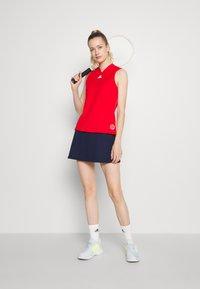 adidas Performance - TANK - Sports shirt - scarlet/signal pink - 1