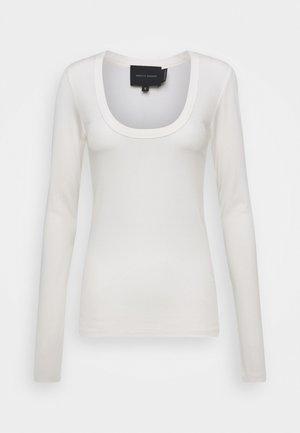 INDY - Top sdlouhým rukávem - white