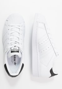 adidas Originals - SUPERSTAR - Trainers - footwear white/core black - 5