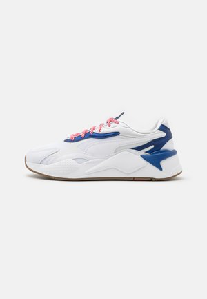 RS-X³ X-MAS EDITION UNISEX  - Trainers - white/elektro blue