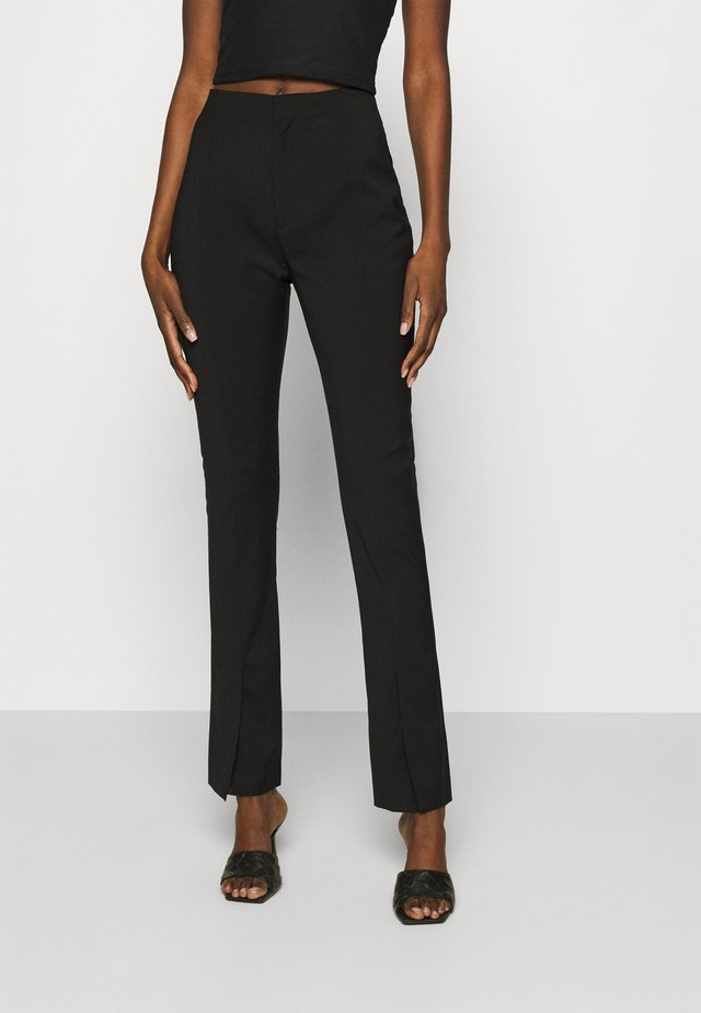 TROUSERS - Bukse - black tailored